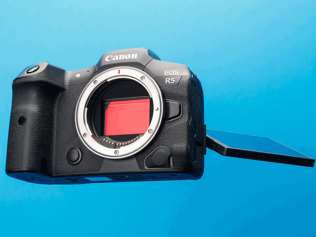 Novas câmeras Canon EOS R5 e R6, conheça mais sobre.