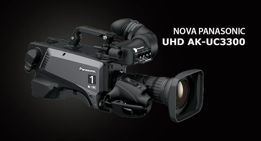 Nova Câmera AK-UC3300 Panasonic